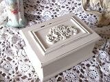 Shabby French Scroll Jewelry Box