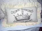 Ruffled Crown Pillow