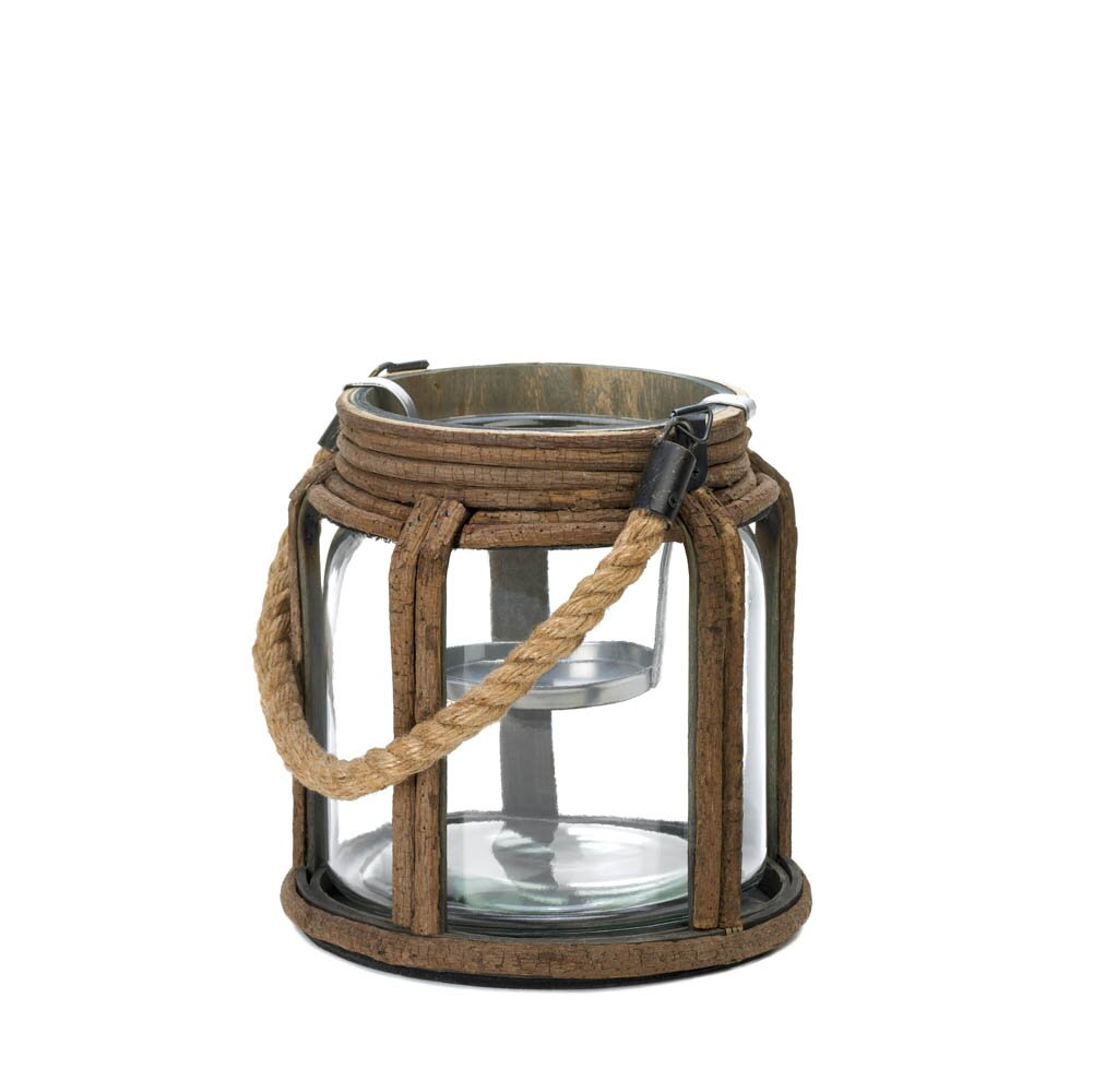 Small Old World Lantern