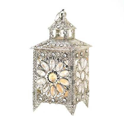 Jeweled Candle Lantern