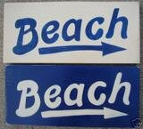 Beach Decor Shabby Sign