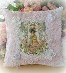 Victorian Lady Accent Pillow