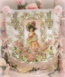 Victorian Lady Wall Tapestry
