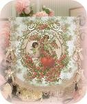 Cherub & Heart Wall Tapestry