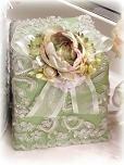 Victorian Lace Tissue Holder