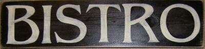 Bistro Cafe Sign