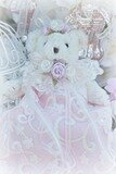 Roses Beaded Lace Bear