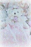 Roses Beaded Lace Bear