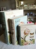 Botanical Print Book Style Boxes