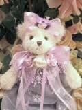Lavender Dress Victorian Bear