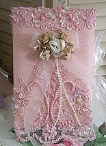Victorian Beaded Photo Album