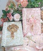 Romantic Victorian Lace Photo Album