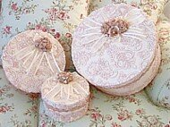 Pink Victorian Lace Keepsake Boxes