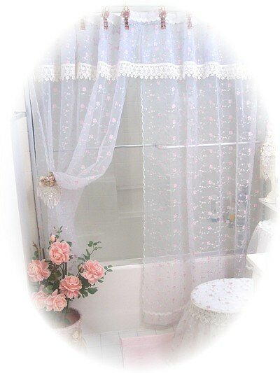 Ordinaire #K6791 Victorian Decor Shower Curtain. Our Products U003e Victorian Decor  Shower Curtain