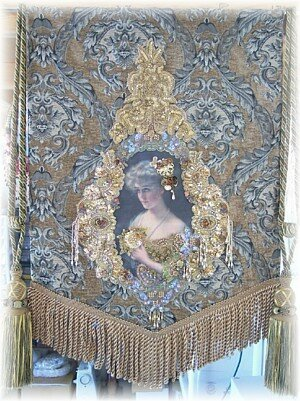 Victorian Decor Wall Tapestry
