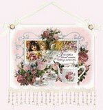 Tea With A Friend Inspirational Wall Hanging